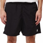 Obey Mens Easy Relaxed Short-Black-M
