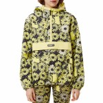 Obey Womens Daisy Anorak Jacket-Yellow Multi-S
