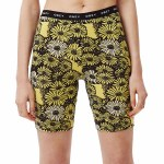 Obey Womens Uptown Short-Yellow Multi-S