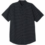 Obey Brozwell Short Sleeve Woven-Black Multi-L