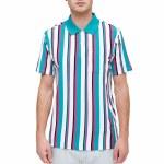 Obey Allen Short Sleeve Polo Shirt-Avocado Multi-S