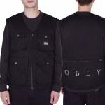 Obey Packing Vest-Black-L