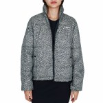 Obey Ruby Jacket Womens-Khaki Leopard-L