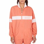 Obey Kennedy Zip Up Jacket-Coral-M
