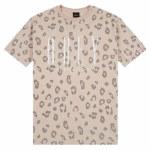 Obey Womens International New Short Sleeve T Shirt-Canteen Leo-XS