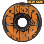 OJs Wheels Mini Super Juice 78A Wheels-Black-55