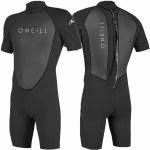 Oneill Mens Reactor 2mm BZ SS Surfsuit-Black/Black-XL