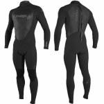 Oneill Mens Epic 4/3 BZ Full Suit-Black/Black/Black-XLS