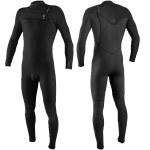 Oneill Mens Hyperfreak 4/3+ CZ Full Suit-Black/Black-MT