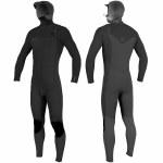 Oneill Mens Hyperfreak 5/4+ Hd Full Suit-Black/Black-L