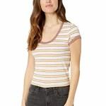 Oneill Womens Elias Short Sleeve T-Shirt-Bright White-S