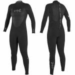 Oneill Womens Epic 4/3 BZ Full Suit-Black/Black/Black-4.0