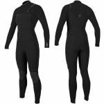 Oneill Womens Hyperfreak 4/3+ CZ Full Suit-Black/Black-6.0