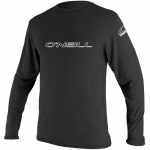 O'Neill Basic Skins Rash Long Sleeve-Black-XXL