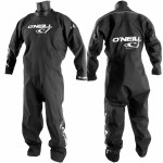 O'Neill Boost Dry Suit-Black/Black/Black-S