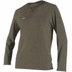 O'Neill Hybrid Long Sleeve Sun Shirt-Cool grey-L