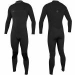 O'Neill Hyperfreak 4/3 Comp Zipless Full Suit-Black/Black-M