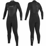 O'Neill Epic 4/3 Back Zip Full Suit-Black/Black/Black-10