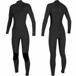 O'Neill O'Riginal 4/3 Chest Zip Full Suit-Black/Black/Black-8