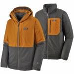 Patagonia Mens 3in1 Snowshot Jacket-Hammonds Gold-S