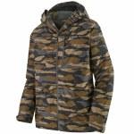 Patagonia Mens Snowshot Jacket-Bear Witness Camo/Mojave Khaki-XL