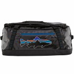 Patagonia Mens Black Hole Duffle Bag-Black/Fitz Trout-OS