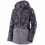 Patagonia Womens Insulated Snowbelle Jacket-Maple Camo Smokey Violet-S