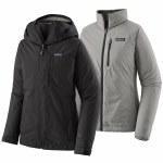 Patagonia Womens 3in1 Snowbelle Jacket-Black-M