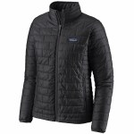 Patagonia Womens Nano Puff Jacket-Black-M