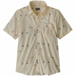 Patagonia Mens Go To Shirt Short Sleeve T-Shirt-White Wash-L