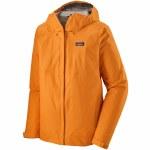 Patagonia Mens Torrentshell 3L Jacket-Mango-L