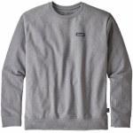 Patagonia Mens P6 Label Uprisal Crew Sweatshirt-Gravel Heather-S
