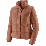 Patagonia Womens Silent Down Jacket-Century Pink-S
