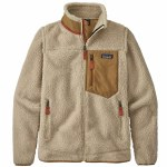 Patagonia Womens Classic Retro X Jacket-Natural/Nest Brown-XS