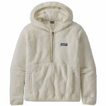 Patagonia Womens Los Gatos Hooded Pullover Hoodie-Birch White-L