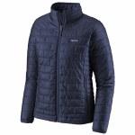 Patagonia Womens Nano Puff Jacket-Classic Navy-XS
