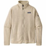 Patagonia Womens Better Sweater Jacket-Oyster White-S