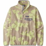 Patagonia Womens LW Synch Snap-T P/O Fleece-Kalani Big Natural-S