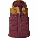 Patagonia Bivy Hooded Vest Womens-Dark Ruby-L