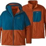 Patagonia 3 in 1 Snowshot Jacket-Big Sur Blue-L