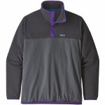Patagonia Micro D Snap T Pullover-Forge Grey-S