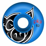Pig Head Wheels-Blue-52
