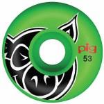 Pig Head Wheels-Green-53