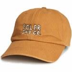 Polar Sk8 Co. Cap-Caramel-OS