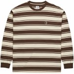 Polar Tilda Long Sleeve T Shirt-Brown/Cream-XL