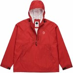 Polar Ripstop Anorak Jacket-Red-L