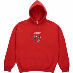 Polar FTP Pullover Hoody-Red-XL