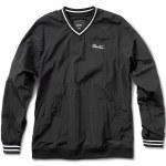 Primitive Creped Warm Up Jacket-Black-XL