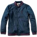 Primitive Sherpa Varsity Jacket-Midnight-L