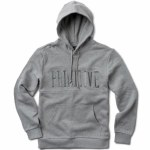Primitive League Paneled Hood Pullover Hoody-Grey Heather-L